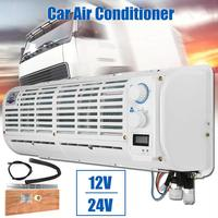 High Quality 12V/24V Car Air Conditioner Multifunction Wall mounted Portable Cooling Fan Digital Display For Car Caravan Truck