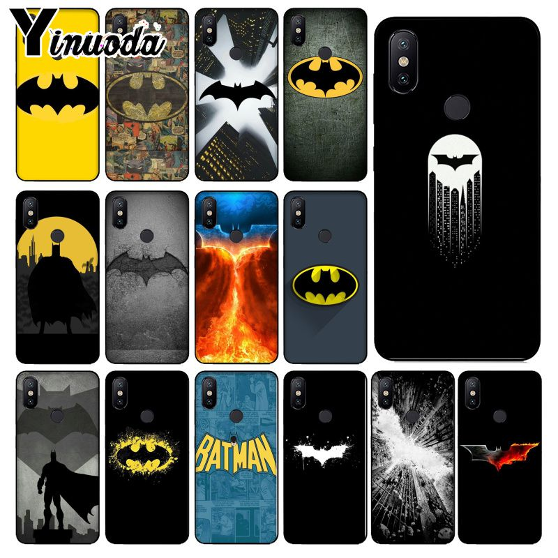 Yinuoda DC Comics Batman DIY Painted Beautiful Phone <font><b>Case</b></font> for Xiaomi <font><b>Mi</b></font> 6 Mix2 Mix2S Note3 8 <font><b>8SE</b></font> Redmi 5 5Plus Note4 4X Note5 image