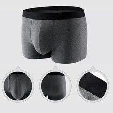 Men Cotton Boxer Underwear 4 pcs/lot