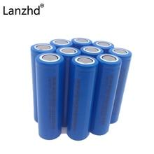 DA de Iões 12 Pcs 18650 Bateria 2600 Mah Capacidade Lítio Recarregável 3.7 V Baterias Recarregáveis