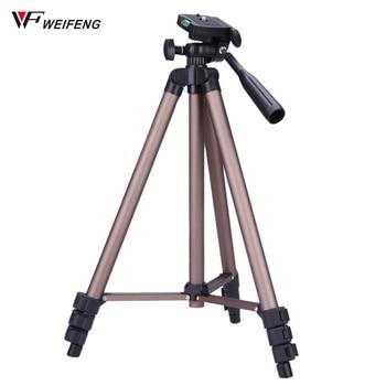 Weifeng WT3130 Profesional Camera Tripod for Canon Nikon Sony DSLR Camera Camcorder Mini Tripod For Phone Tripod Camara