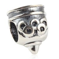 New DIY Sport Torch Charms Original 100% Authentic 925 Sterling Silver Beads fit for Pandora bracelets & Necklaces