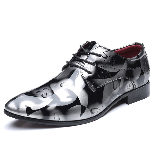 COSIDRAM Patent Leather Oxford Shoes