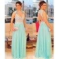 Menta Verde Mãe dos Vestidos de Noiva para Casamentos Longo Chiffon Lace Vestidos Mãe Do Noivo Da Noiva vestido mae da noiva