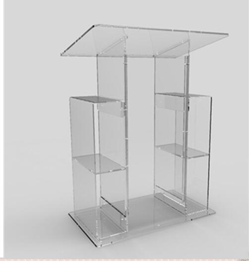 Acrylic Speech Lectern For Classroom Acrylic School   Plastic Lectern Decoration Table Furniture