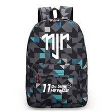 Neymar JR Canvas Backpack Men Women Backpacks Travel Bag Boy Girl School Bag For Teenagers Foot Ball RuckSack Mochila Escolar