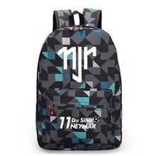 Neymar JR Canvas Backpack Men Women Backpacks