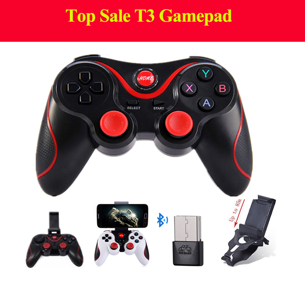 T3 Smart Phone Game Controller Wireless Joystick Bluetooth 3.0 Android Gamepad Gaming Remote Control for phone PC tablets pk S3 цена 2017