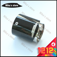 For Mini Cooper Carbon Fiber Exhaust Pipes Muffler Suitable For R55 R56 R60 R61 F55 F56