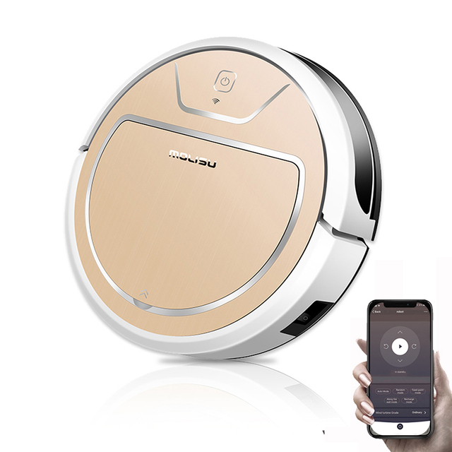 MOLISU V8S PRO ROBOT VACUUM CLEANER 2in1 for pet hair home with Dry and Wet mopping Auto charge WIFI APP Control ROBOT ASPIRADOR 1