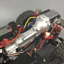 KYX CNC обработанный сверхмощный два 2 скорости V8 коробка передач для осевой SCX10 II AX90046