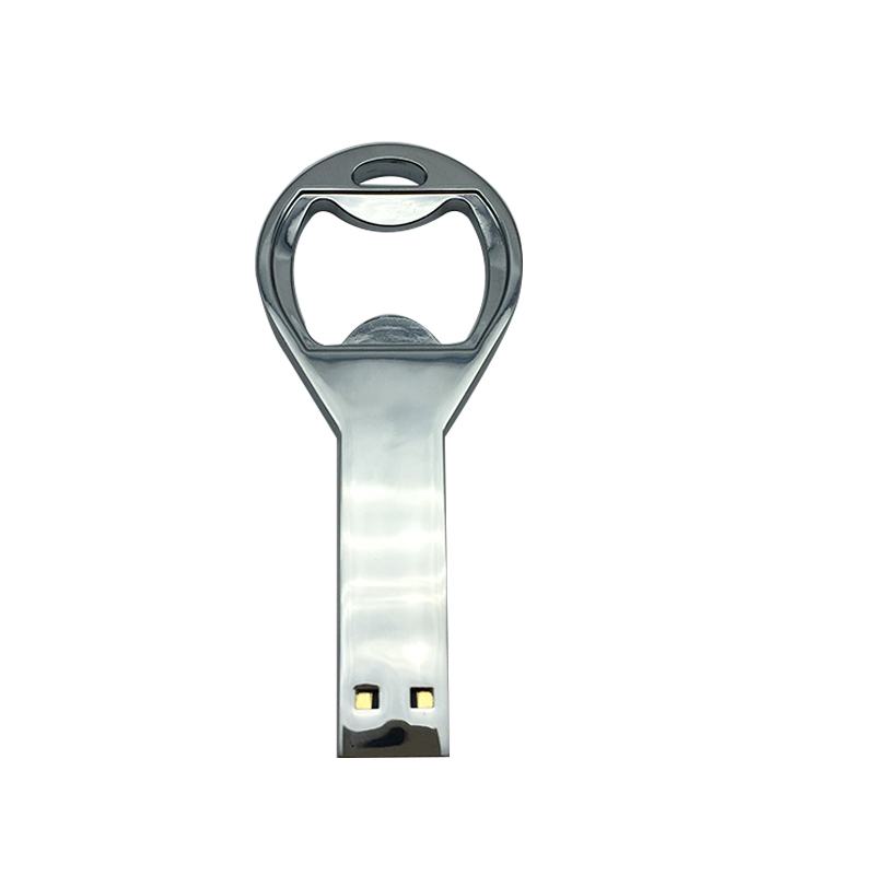 creative usb flash drive 128gb memory usb 2 0 pen drive 64gb pendrive 16gb 8GB 4GB Metal usb disk bottle opener free custom logo in USB Flash Drives from Computer Office