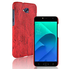 SuliCase Leather Case for Zenfone 4 Selfie ZD553KL Wood Grain Phone Case Cover for Asus Zenfone 4 Selfie ZD553KL Hard PC Cover смартфон asus zenfone 4 selfie zd553kl black 90ax00l1 m01490