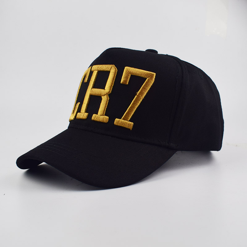 40bffc14fd829 Fashion Style Cristiano Ronaldo CR7 3D embroidery Baseball Caps Hip Hop Caps  cotton adjustable Snapback Hats High Quality-in Baseball Caps from Apparel  ...
