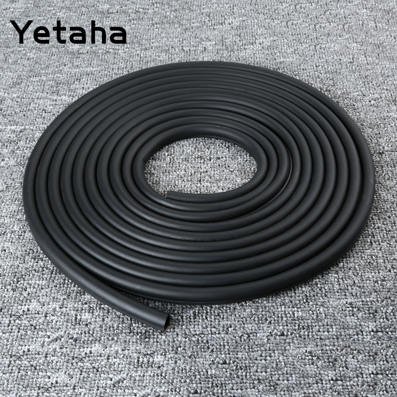 Image 5 - 8M Big D type Seal Strip EPDM Rubber Adhesive Waterproof Dustproof Sound Insulated Weatherstrip For Car Doors Trunk And Engine-in Fillers, Adhesives & Sealants from Automobiles & Motorcycles