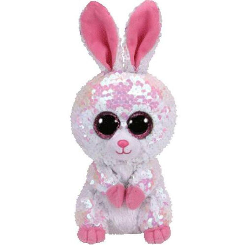 Ty Beanie Boos Bonnie The Rabbit Sequin Edition Plush Animal Bunny Toys 15cmTy Beanie Boos Bonnie The Rabbit Sequin Edition Plush Animal Bunny Toys 15cm