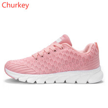 Women Sports Shoes Sneakers Fashion Mesh Non-slip Breathable Outdoor Climbing Running Casual