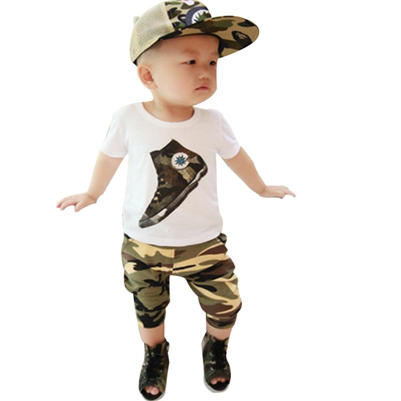 2015 noi vară 0-4 ani băieți îmbrăcăminte 100% bumbac coreeană - Haine copii
