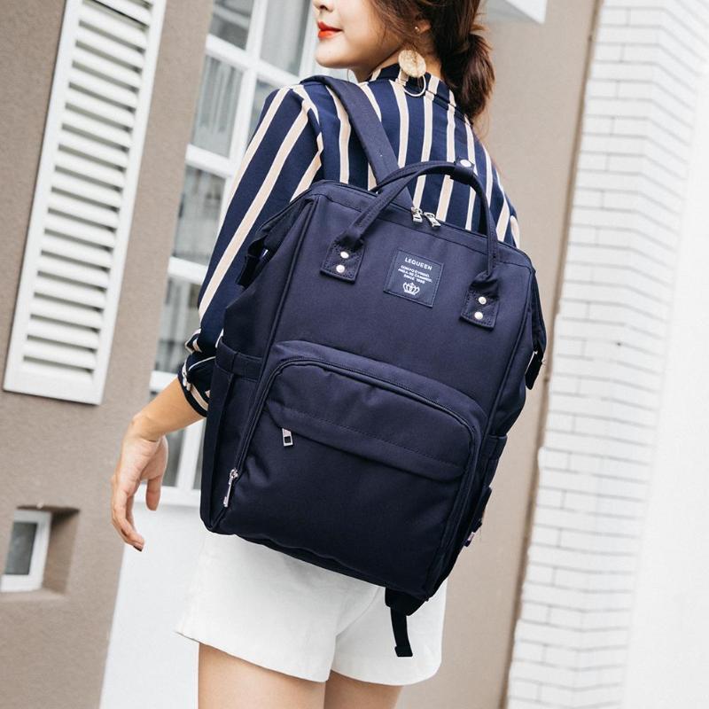 HTB1iM62HL5TBuNjSspmq6yDRVXan LEQUEEN Fashion USB Mummy Maternity Diaper Bag Large Nursing Travel Backpack Designer Stroller Baby Bag Baby Care Nappy Backpack