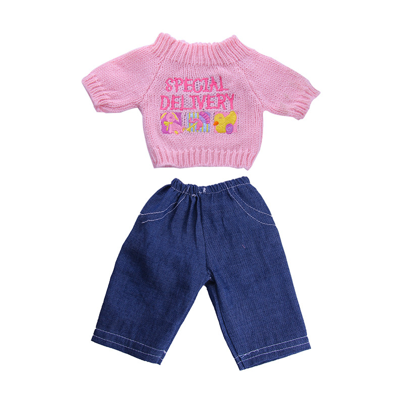 2018 new year Fashion Doll Pajamas Set for 18 American Girl Doll Pajamas for Children Gift Doll Accessories