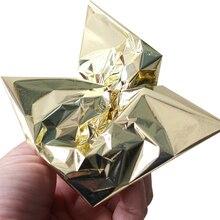 500PCS Taiwan Grasping Champagne Silver shiny Imitation silver leaf foil  gilding