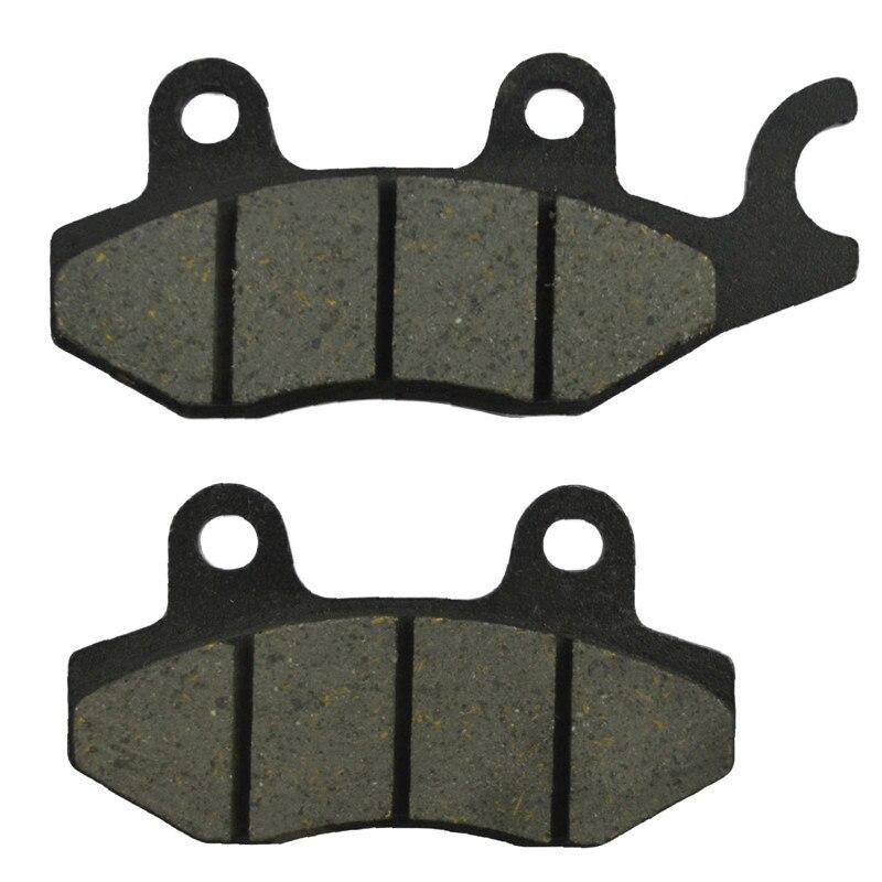 Motorcycle Brake Pads For HONDA NSR 50 V NSR 50 X  XL 125 V1/V2/V3/V4/V5/V6/V7/V8 Motor Brake Parts  FA197 glukhar v
