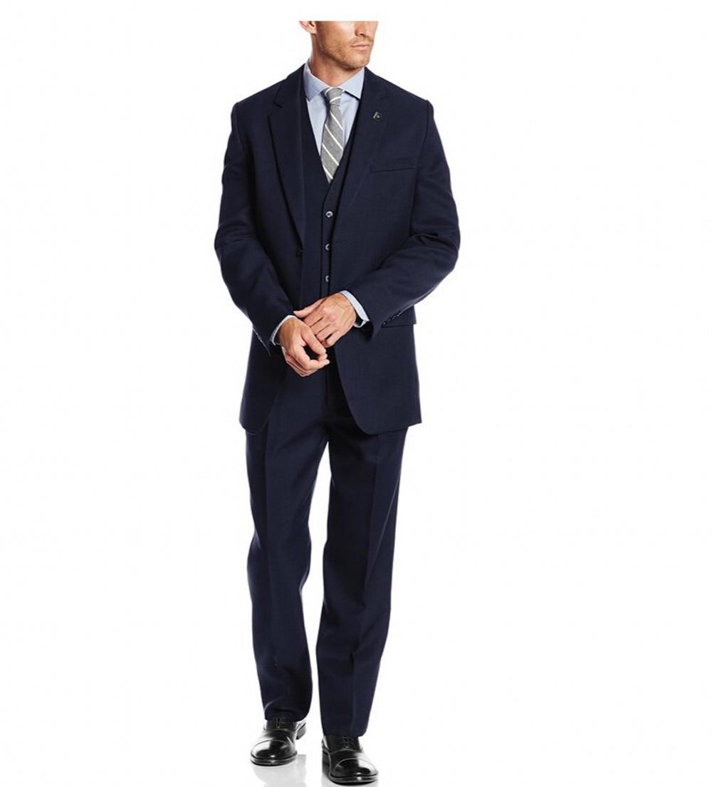 Guapo 2018 Customized Groom Tuxedos Groomsmen El mejor traje de - Ropa de hombre - foto 5
