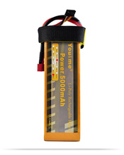 2pcs Youme DJI F550 S800 FPV LiPo Battery 5000mAh 14.8V 50C 4S For RC Drone Helicopters