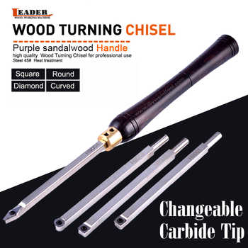 Wood Turning Tool Carbide Insert Cutter With Wood Handle Lathe Tools chisel set Round Shank Woodworking Tool High Quality - DISCOUNT ITEM  0% OFF All Category