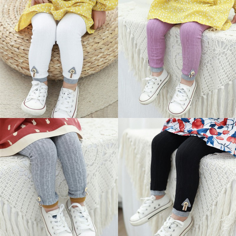 Spring New Kids Knitting Leggings Baby,Infant Fashion Wild Keep Warm Pants For 0-4T Children Clothing Gifts Toddler Leggings