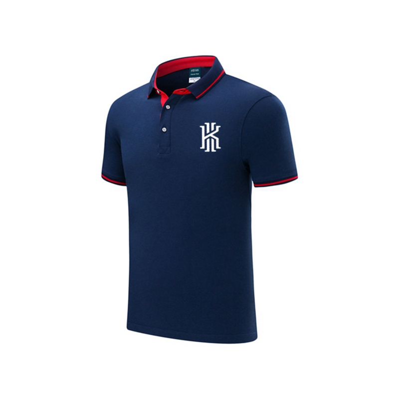 New   Polo   Shirt Brands 2019 Men Short Sleeve Fashion Casual Slim Deer Embroidery Printing Men   Polos