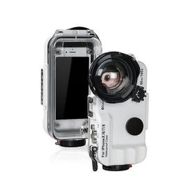 Controllo Bluetooth Impermeabile Per il caso di iphone X XS XR XS Max 8 7 6 6S Plus Copertura di Immersione Subacquea nuoto Surf Casa Foto