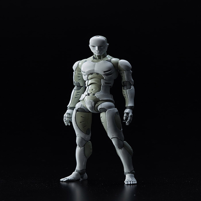 Heavy Industries Synthetic Human  PVC Action Figure Collectible Model Toys Gift 28cmHeavy Industries Synthetic Human  PVC Action Figure Collectible Model Toys Gift 28cm