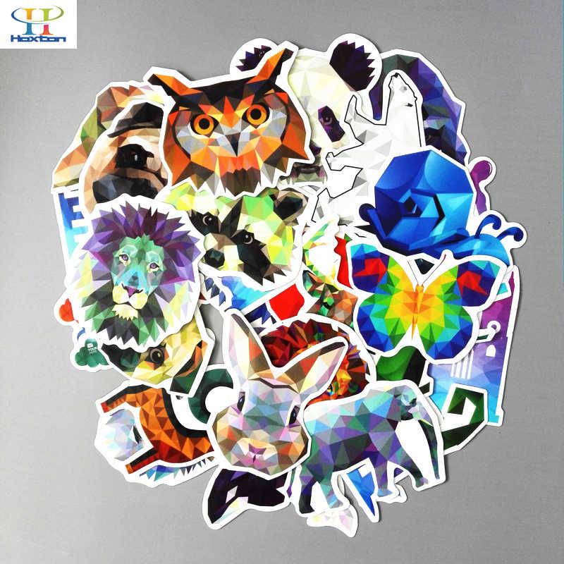 35 шт./лот Galaxy Цвет животных наклейки смешанные смешные для автомобиля ноутбук велосипедный рюкзак тетрадь DIY водонепроницаемые наклейки