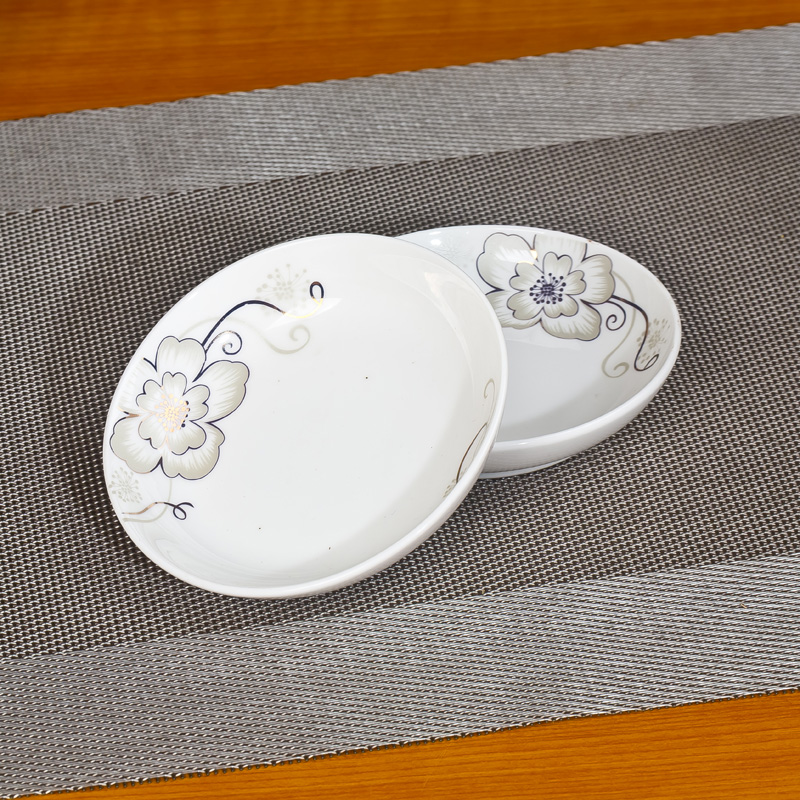 Chinese Style Creative Round Ceramic Dish with Flower Print Vinegar Sauce Soup Plate Microwave Safe\u0026Freezer Safe & Online Get Cheap Microwave Safe Plate -Aliexpress.com | Alibaba Group