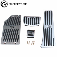 Anti Skid Car Foot Pedal Cover With Rest Pedal Repalcement Kit For KIA K4 K5 Optima