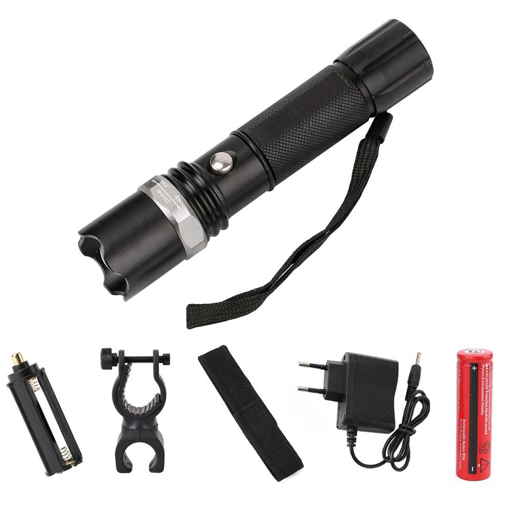 3 Modes Flashlight Lantern Tactical Rechargeable XPE Led Flashlights Zoom able Flashlight 18650 Lamp Touche Linternas Led Lamp fenix cl25r rechargeable lantern cl25rg фонарь olive