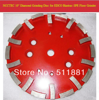 10'' HTC Diamond Concrete Grinding Disc Head for EDCO Blastrac SPE HTC floor grinder | 250mm Cement Abrasive disk | 20 segments