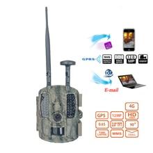 Skatolly 4G Digitale Scouting infrarot Jagd Kamera 12MP Video MMS GPRS GPS Nachtsicht Trap Spiel Wildlife hunter Trail Cam