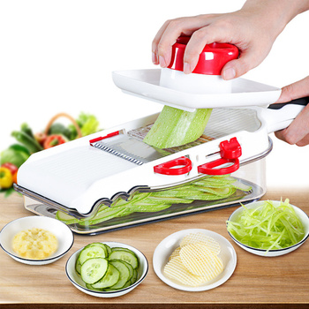 Quick-done Onion Chopper Pro Vegetable Chopper Mandoline Slicer Dicer With 3 Replaceable Blades Veggie Chopper Cutter adjustable mandoline slicer professional grater