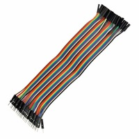 400PCS 30CM Row Male to Female Colorful Dupont Cable 1P-1P For arduino