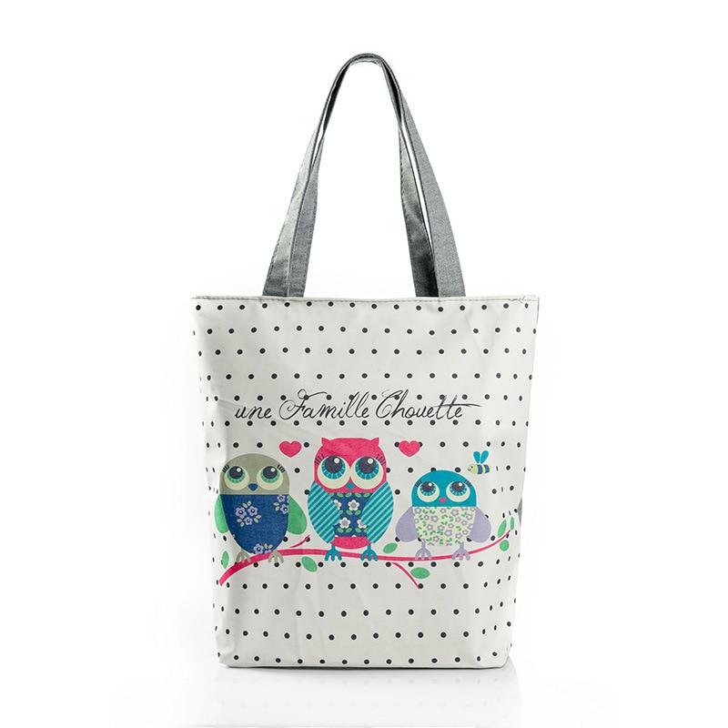 Vrouwelijke handtas uiltas Goede kwaliteit Canvas portemonnees en - Handtassen - Foto 1