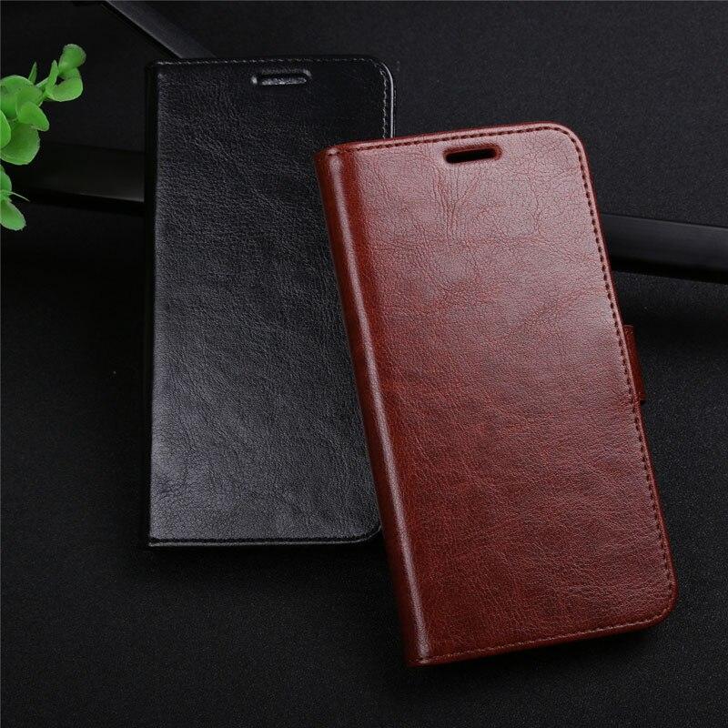 100% Kwaliteit Voor Huawei Y9 2018 Case Flip Luxe Pu Leather Phone Case Voor Huawei Y9 2018 Telefoon Wallet Cover Leather Y 9 Anti-klop Case