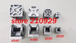 50pcs/pack 3030 movable hinge fixed angle support rotation range 180 degree aluminium