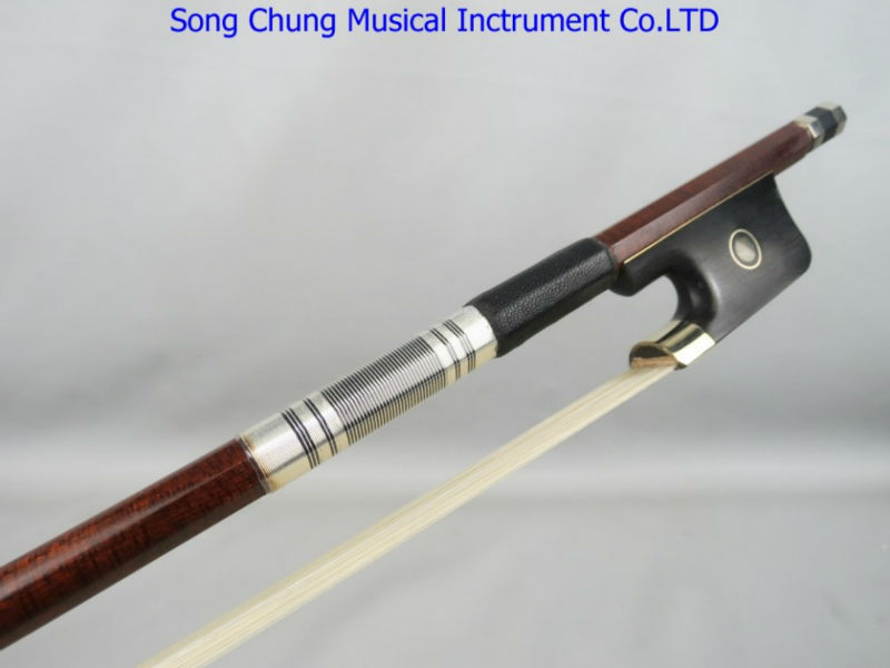 AAAA+Best Concert pernambuco carbon fiber 4/4 viola bow nickel siver fittings Siberia white horsetail free shipping #20 aaaaa professional pernambuco wood 4 4 violin bow white siberia horsetail nickel siver mounted ebony frog free shipping 9