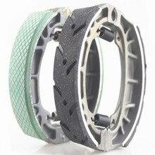 Wear-resisting Non-slip SCOOTER MOTORCYCLE GY6 CG125 Brake shoe Drum brake disks 11CM inner diameter free shipping
