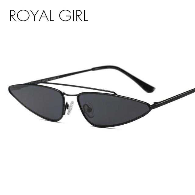 ROYAL GIRL New Designer Small Frame Sunglasses Women Vintage Cat Eye ...