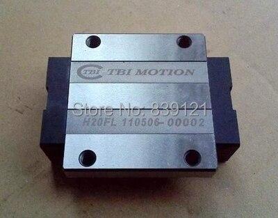 original tbi linear guideway bearings block trs25vn Free ship Original TBI linear guideway bearings block TRH30FN