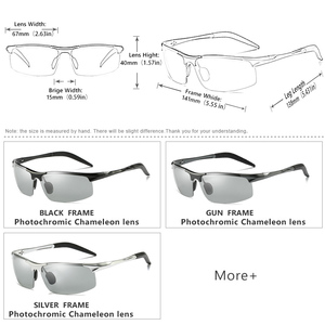 Image 5 - CoolPandas marka projektant aluminium magnezu okulary przeciwsłoneczne fotochromowe polaryzacyjne mężczyźni jazdy na dzień i noc zonnebril mannen