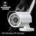 Беспроводная Ip-камера поддержка Onvif nvr WI-FI Мегапиксельная 720 P HD открытый Безопасности CCTV Камеры ИК Инфракрасный SD Карты P2P Пуля водонепроницаемый